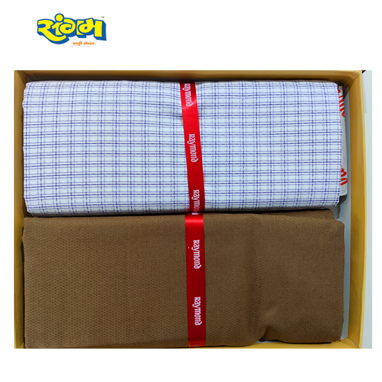 Raymond Combo Pack - Unstitched Shirt and Trouser